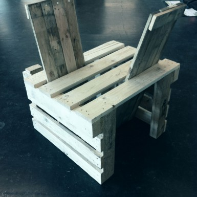 Pallethout meubel