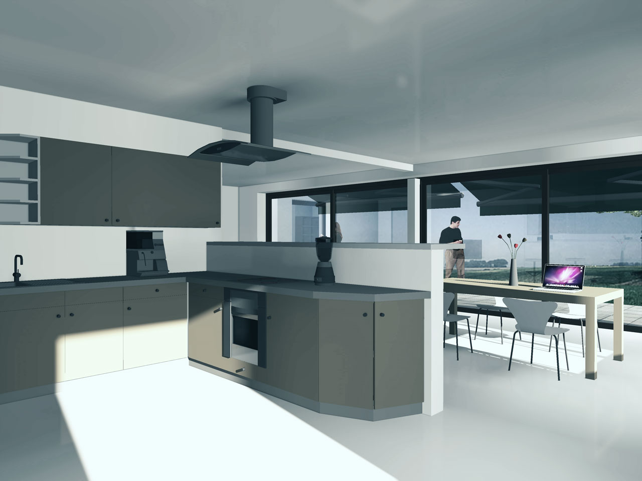 Smart living van den hurk architecten regio eindhoven for Interieur huis